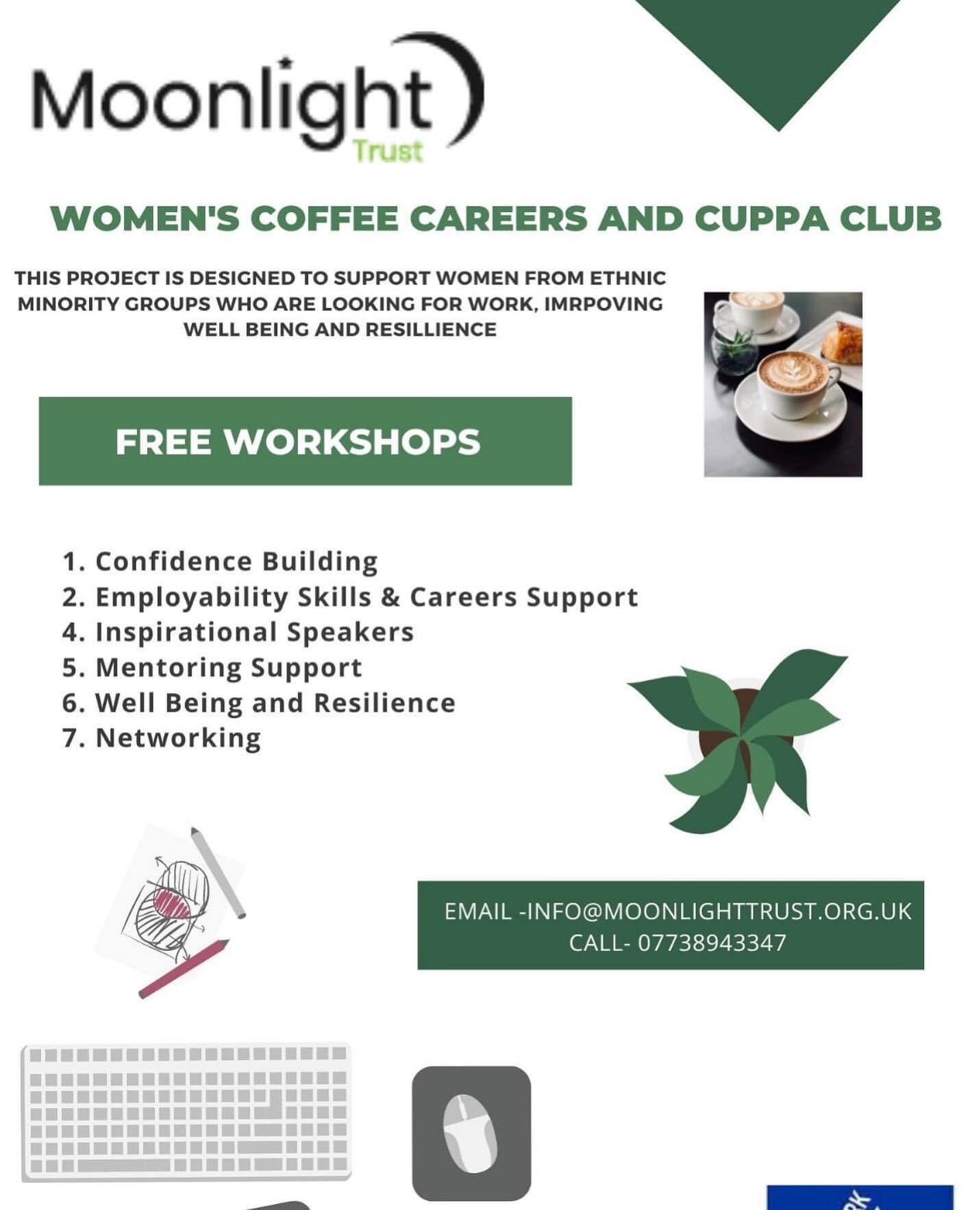 Our Women's Coffee and Careers Club Is Back!