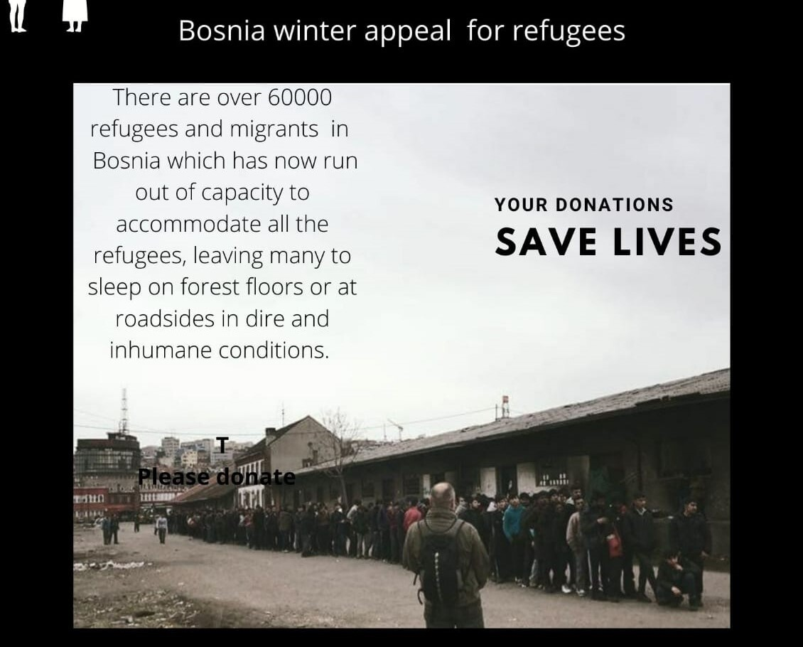 Bosnia Winter Appeal for Refugees
