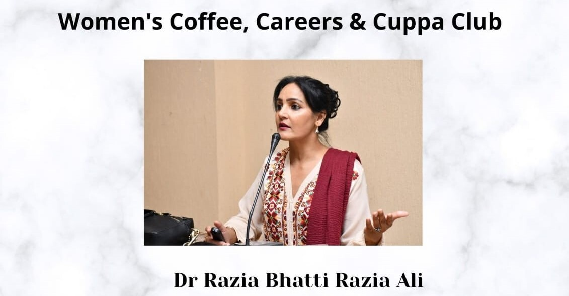 Guest Speaker Dr. Razia Bhatti Razia Ali, and The Importance of Women's Mental Health