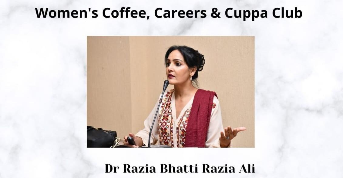Guest Speaker Dr. Razia Bhatti Razia Ali, and The Importance of Women's Mental Health