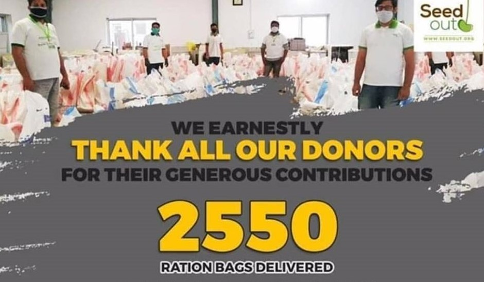 We Have Fed Over 2000 People!