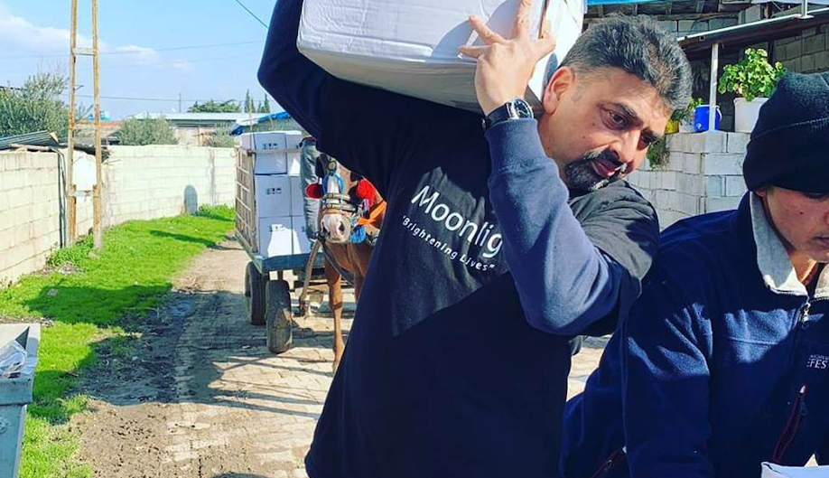 Winter Supplies being delivered to Syrian Families